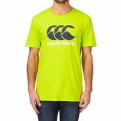 Canterbury T-shirt Logo Lime Punch