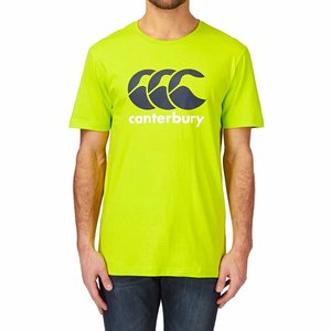 Canterbury T-shirt Logo Lime Punch
