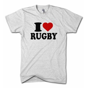 Bee Fit Sportswear I love Rugby t-shirt div kleuren