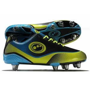 Optimum Rugbyschoen Atomik blue/Yellow