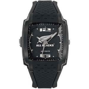 All Blacks All Blacks Horloge Scrum zwart