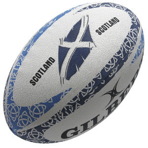 Gilbert Rugby bal Flower of Scotland