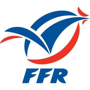 Gilbert Rugby bal Frankrijk maat 4