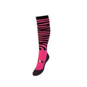 Hingly Rugby sokken Zebrqa black/pink