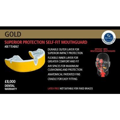 Opro Gebitsbescherming Gold vanf 7 jaar, Rood