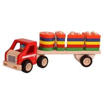 Santoys - Vrachtwagen - Met geometrische vormen