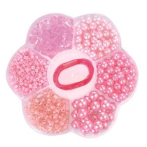 Egmont Toys - Kralen - In bloemendoosje - Lichtroze