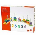Goki Goki - Verjaardagstrein - 75cm