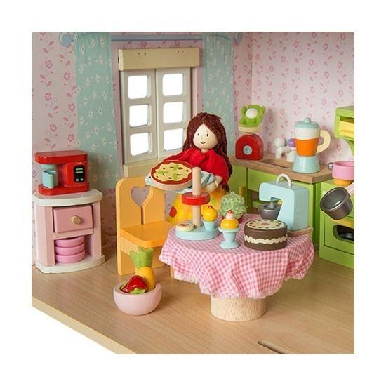 Le toy van le toy van keukenset voor poppenhuis for Poppenhuis voor peuters