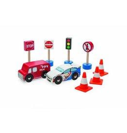 Le Toy Van Le Toy Van - Verkeer set