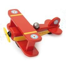 Le Toy Van - Vliegtuig - Rood