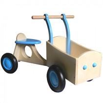 Van Dijk Toys - Bakfiets - Lichtblauw