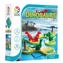 Smart Games - Dinosaurs mysterious islands - 6+