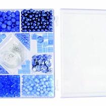 Egmont Toys - Kralen - In rechthoekig doosje - Blauw