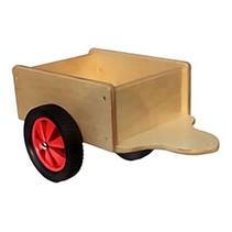 Allehand - Aanhanger voor loopfiets - Rode wielen