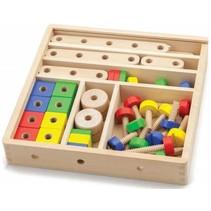 Viga Toys - Constructieset 52-delig