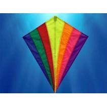 Diamant - Vlieger - Regenboog