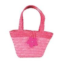 Egmont Toys - Boodschappentasje gevlochten - Roze