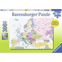 Ravensburger - Puzzel - CITO - Kaart van Europa - 300 stukjes