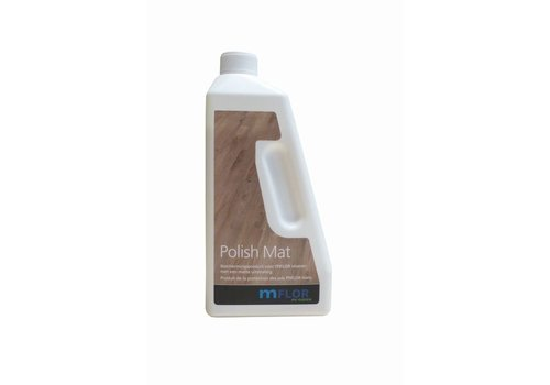 Mflor Polish mat (matte pvc vloeren) - 750 ml