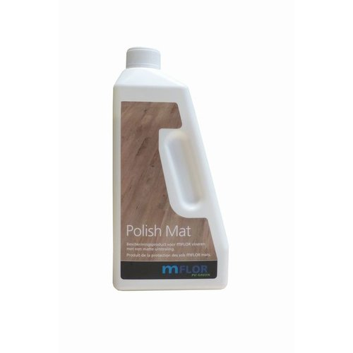 Mflor Polish mat (matte pvc vloeren) - 750 ml