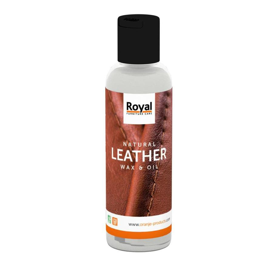 Natural Leather Wax & Oil - 150ml