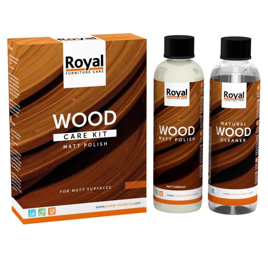 Wood Care Kit Matt Polish-1