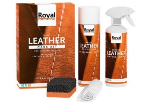 Leather Care Kit - Brushed Leather