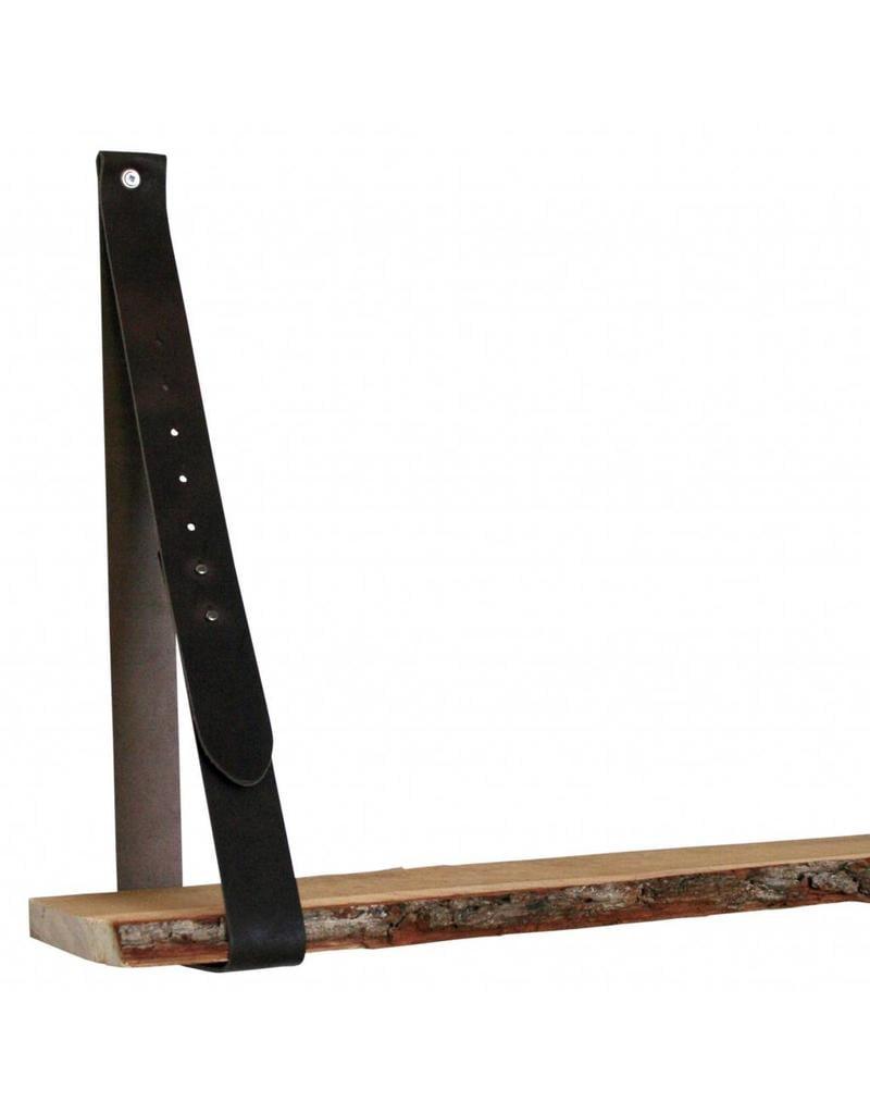 NiiNiiX leather shelf support brown