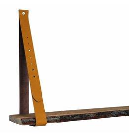 NiiNiiX Dies sind die einzigen 100% originalen Lederregalstützen, die schön bearbeitet wurden, um mit Gerüstholz oder einem engen Regal einen warmen natürlichen Look zu schaffen.