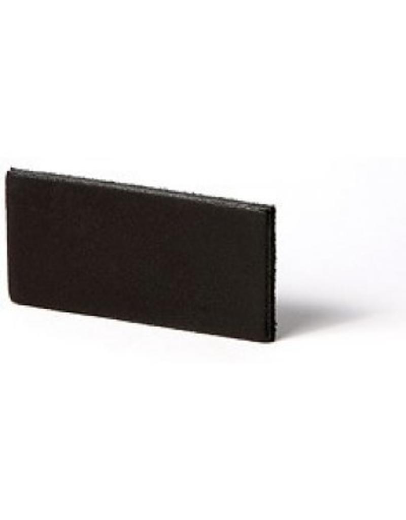 100% original Leren plankdrager zwart verstelbaar (prijs per stuk)