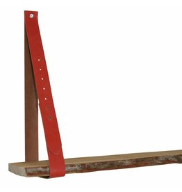 NiiNiiX leather shelf support red/orange