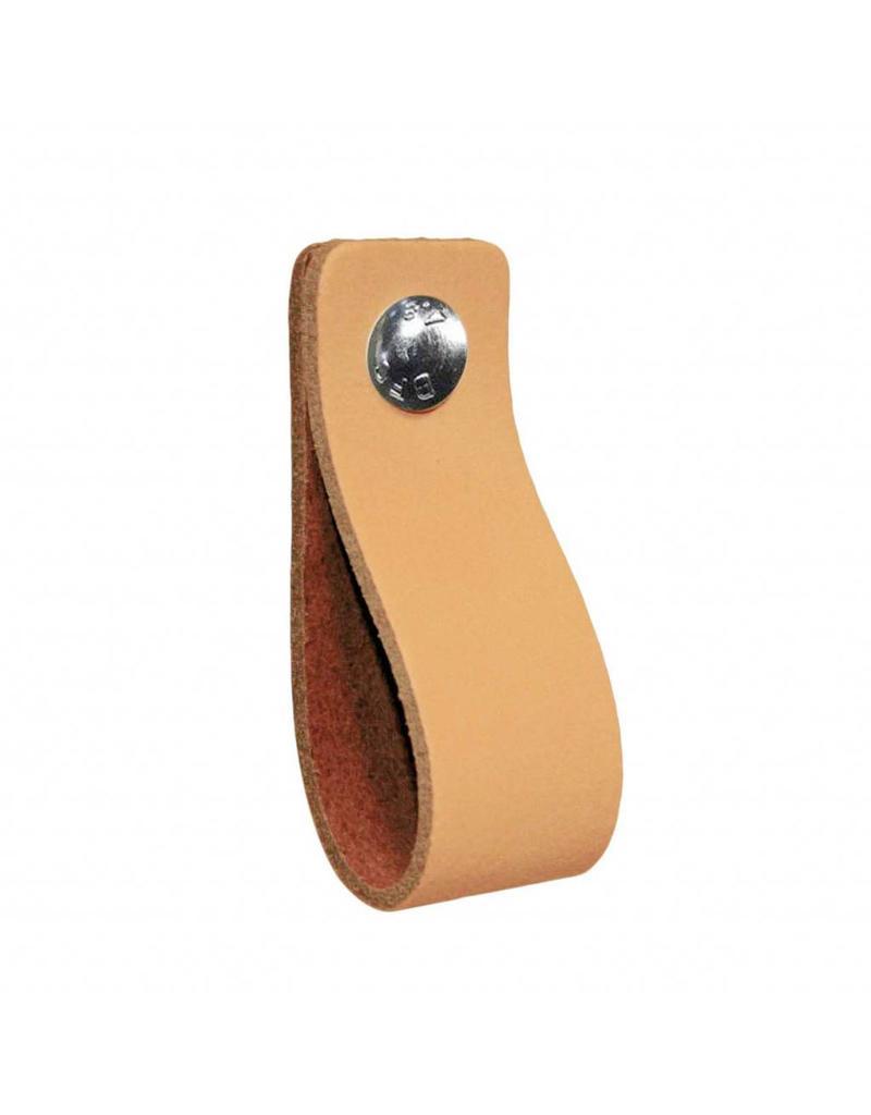 100% original Leather handle Peach salmon