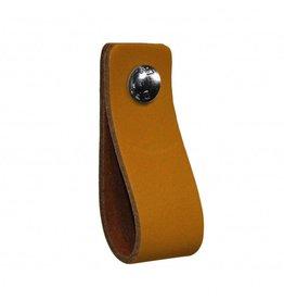 NiiNiiX Leather handle Oker Geel