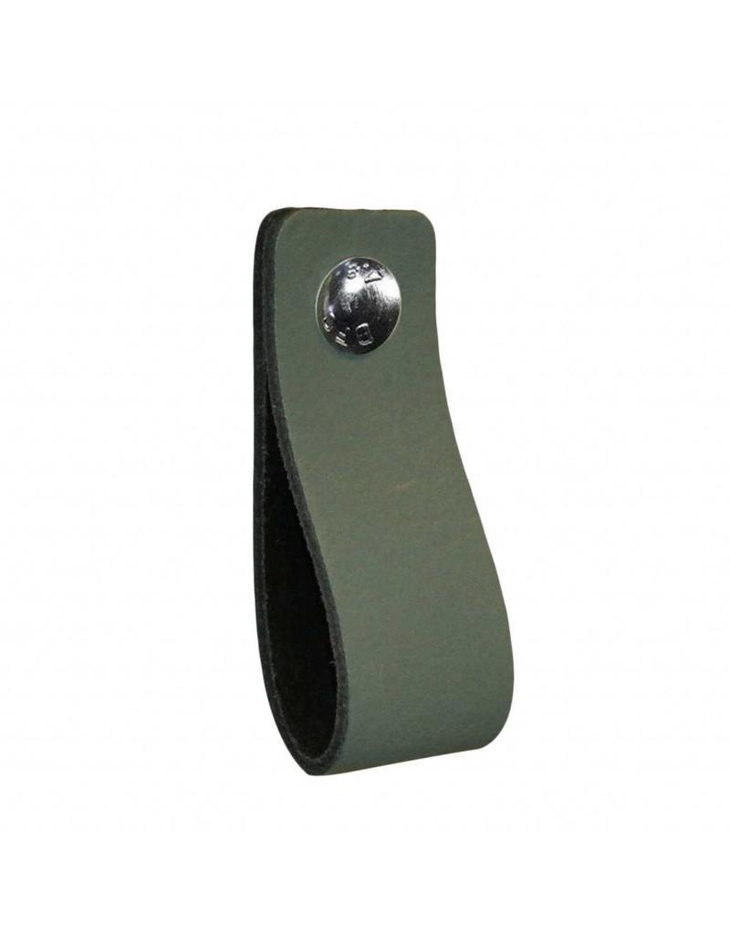 100% original Ledergriff Lead grau / grün