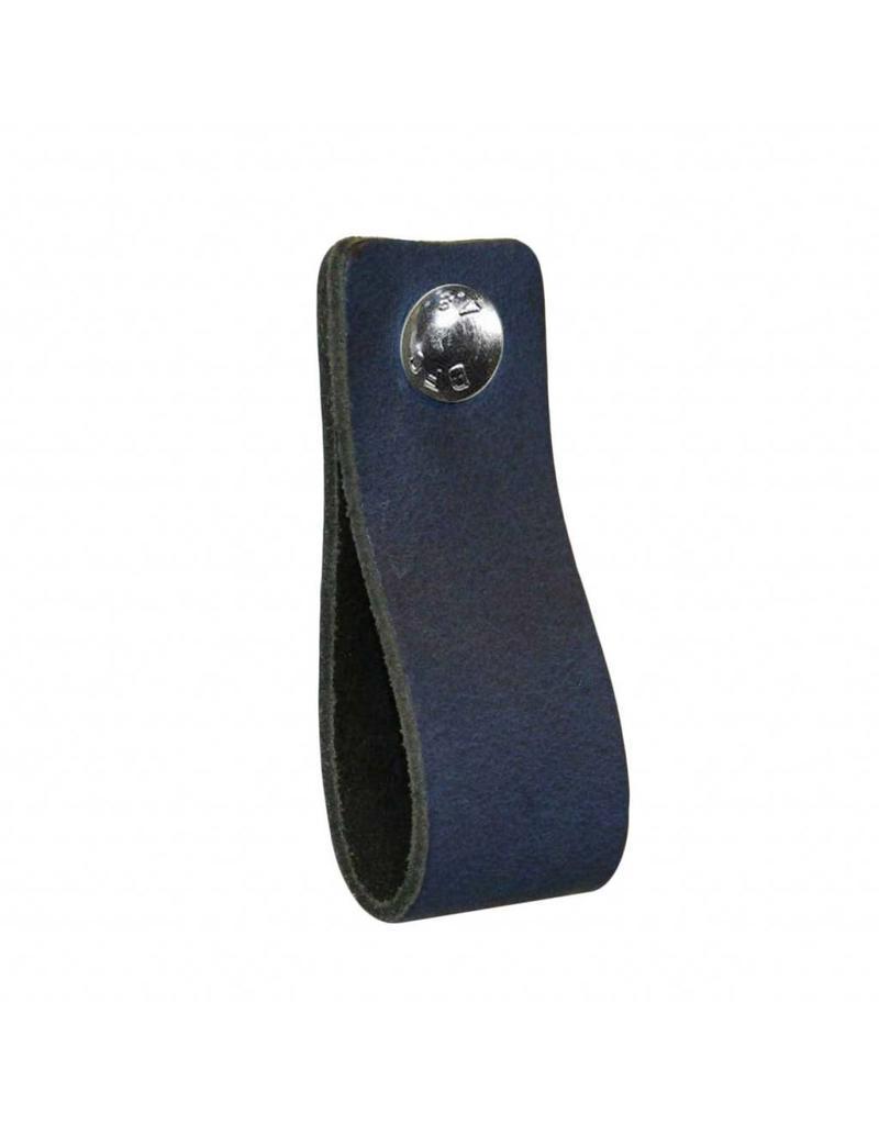 NiiNiiX Leder Griffe Jeans donker blauw