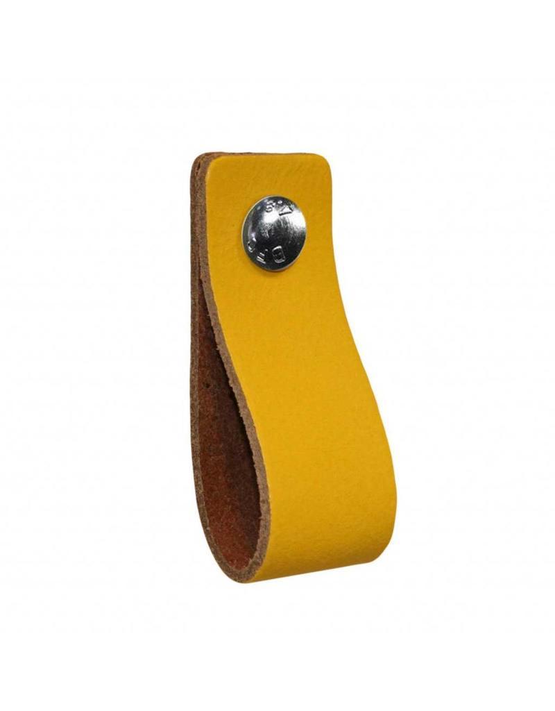 100% original Leather handle Yellow