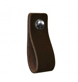 NiiNiiX Leather handle Dark brown