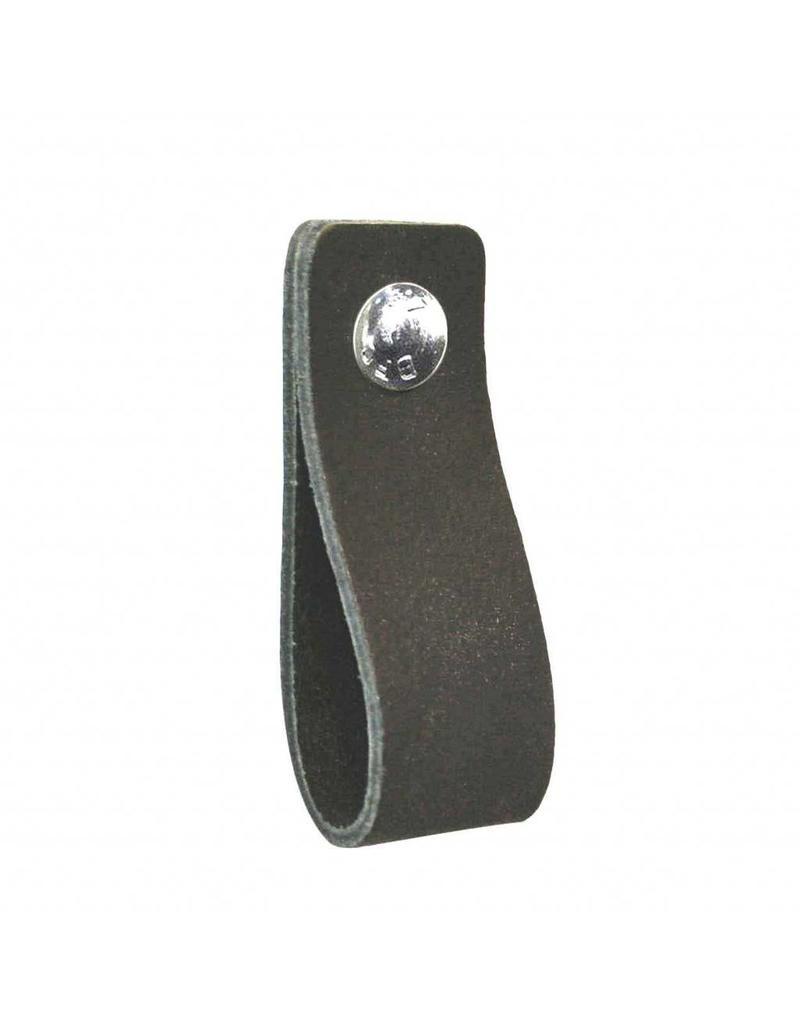 NiiNiiX Leather handle anthracite blackboard gray