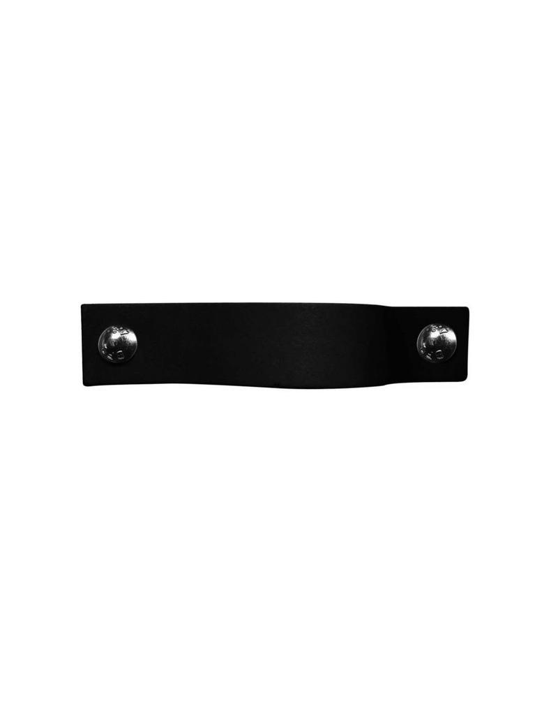 100% original Leren handgreep Zwart XSmall 2cm
