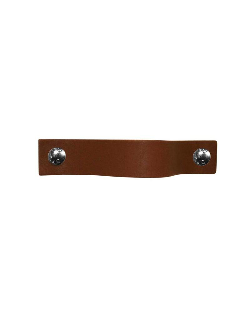 100% original Leather Pulls light brown XSmall 2cm wide