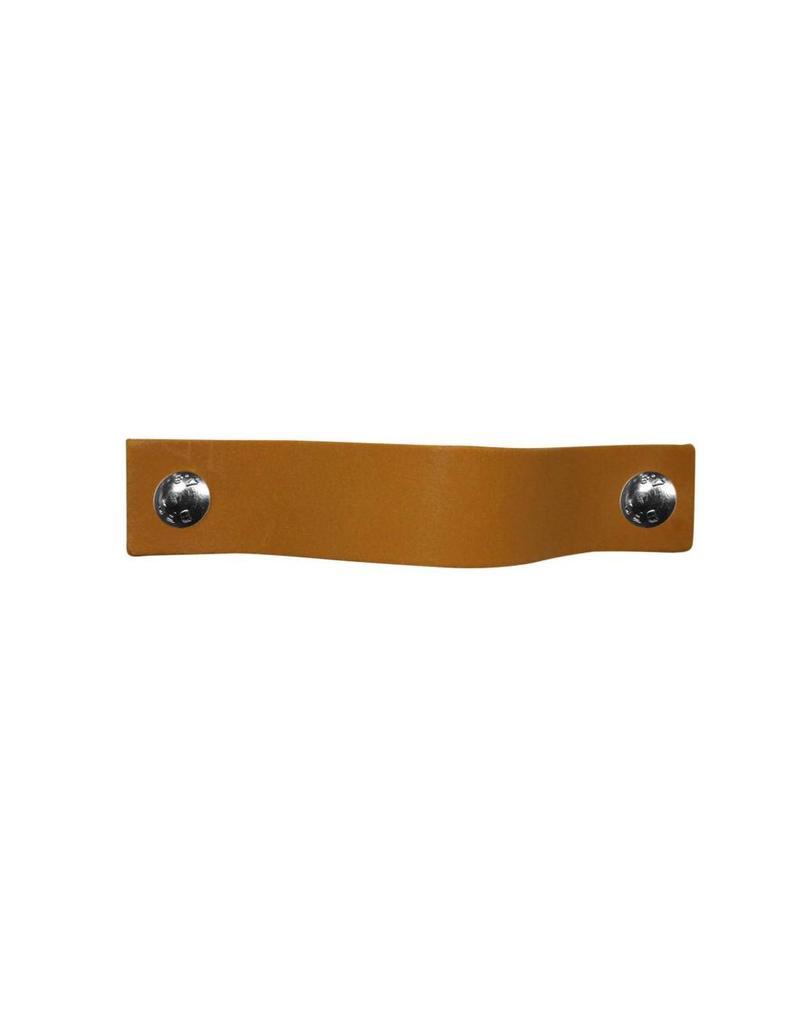 100% original Ledergriff Ockergelb MobelGriff  XSmall 2cm