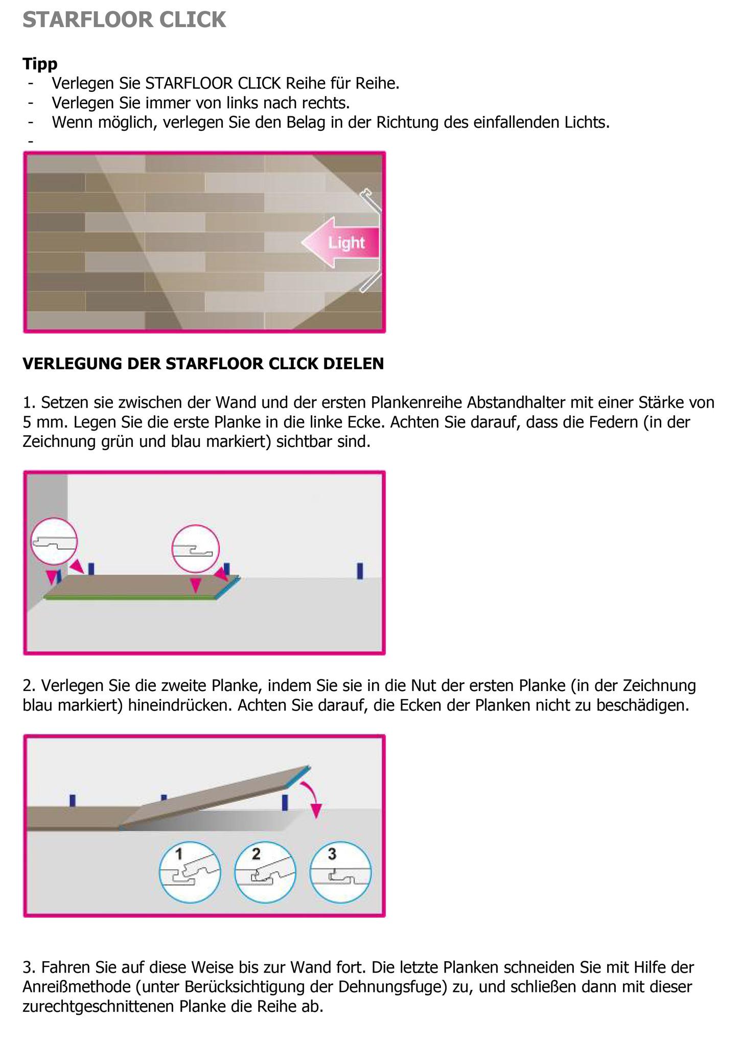Klick Vinyl Verlegen Anleitung Hornbach With Klick Vinyl Verlegen