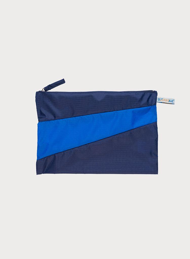 SUSAN BIJL Pouch Navy & Blue