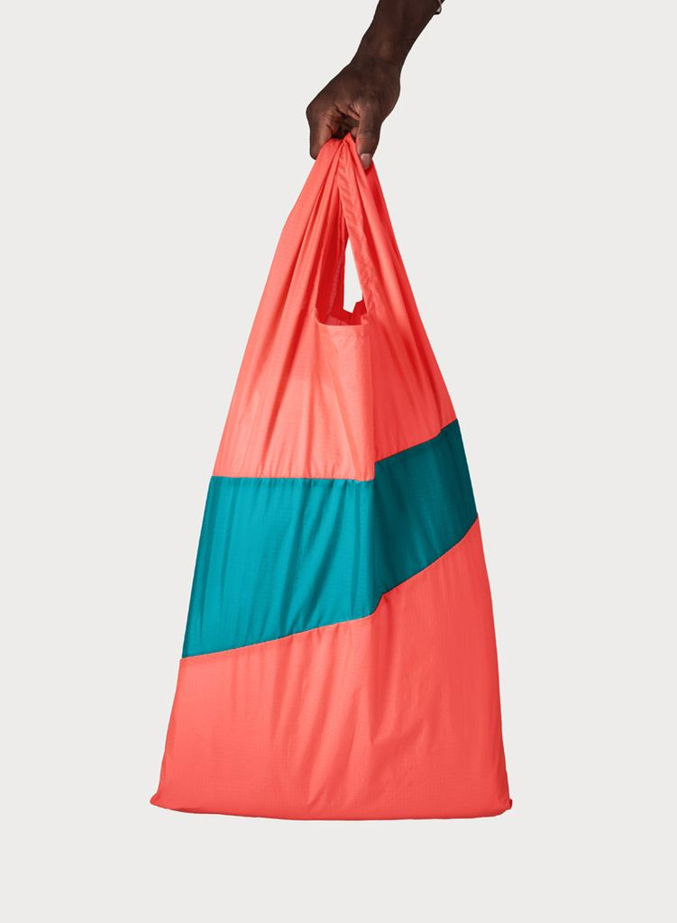SUSAN BIJL Shoppingbag Rhodo & Aqua