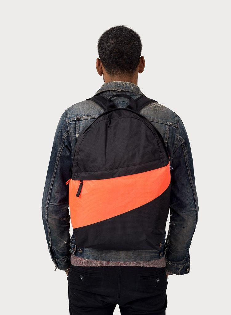 SUSAN BIJL Foldable Backpack GIt & Rhodo