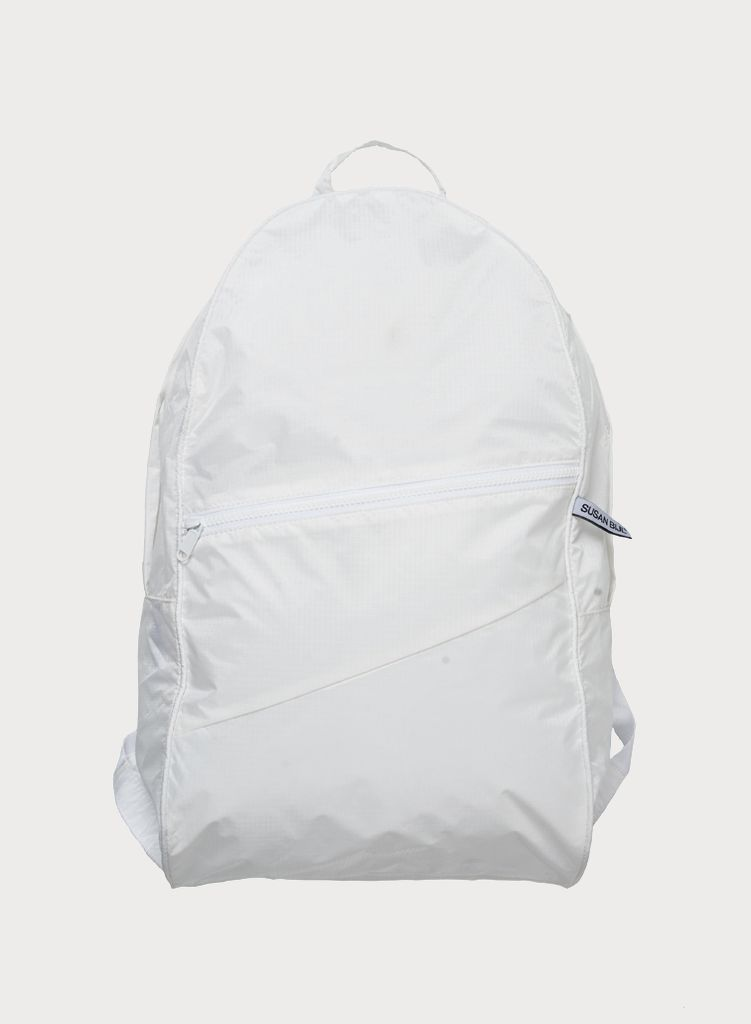 SUSAN BIJL Foldable Backpack White & White