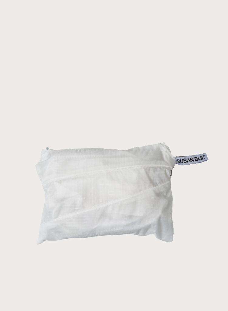 SUSAN BIJL Foldable Backpack White & White