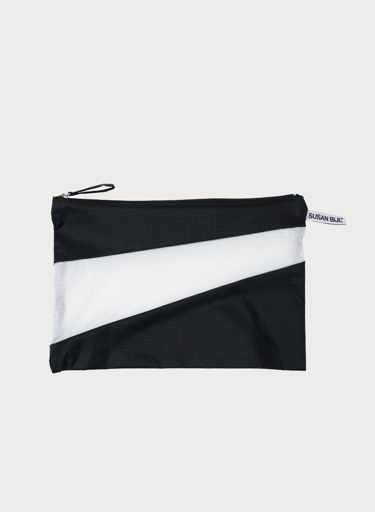 SUSAN BIJL Pouch Black & White