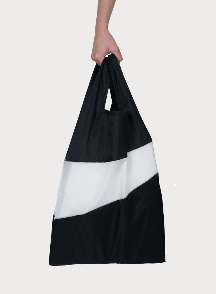 SUSAN BIJL Shoppingbag Black & White